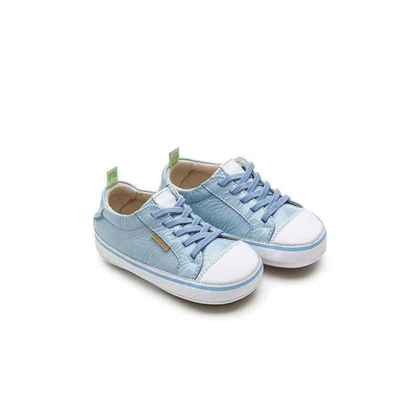 Baby Original Collection Sneakers Patent Blue White