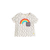 APPLIQUE SHORT SLEEVE T SHIRT