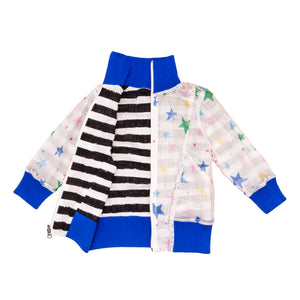 Reversible Multi Kulti Star Track Jacket