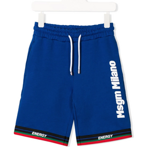Blue Milano Track Shorts