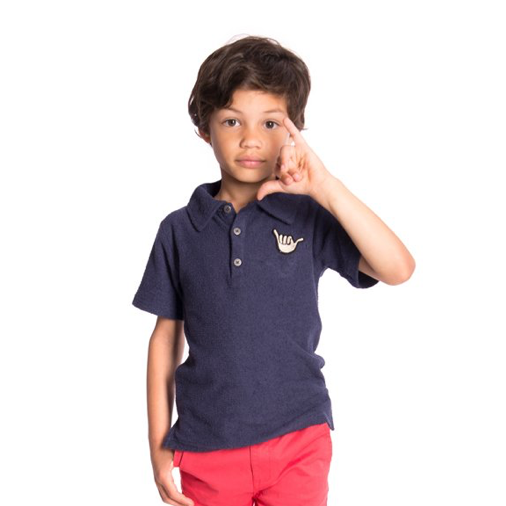 Navy Fairbanks Polo
