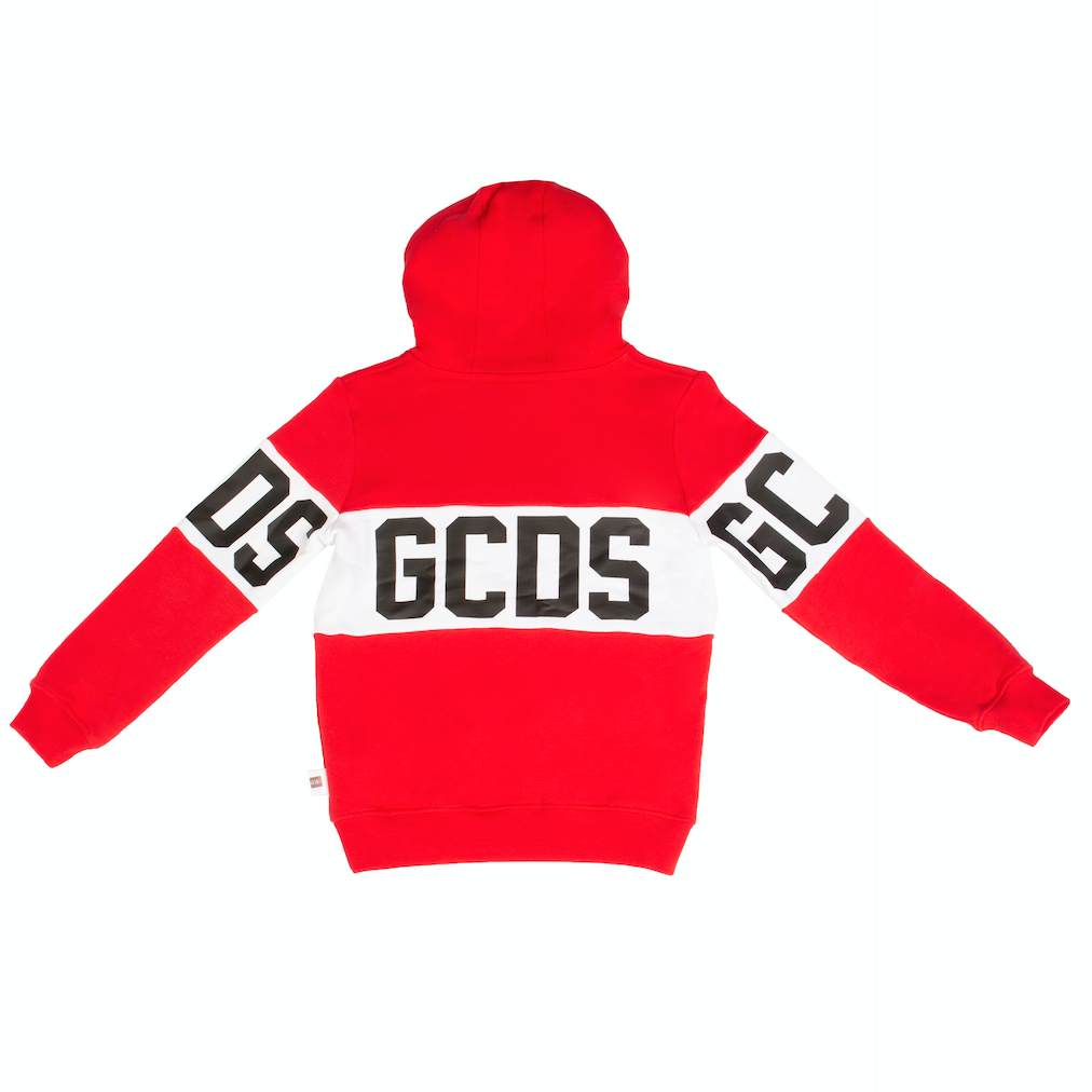 Red Logo Band Hoodie
