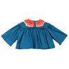 KISS BLOUSE TEAL