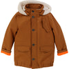 Brown Parka Jacket
