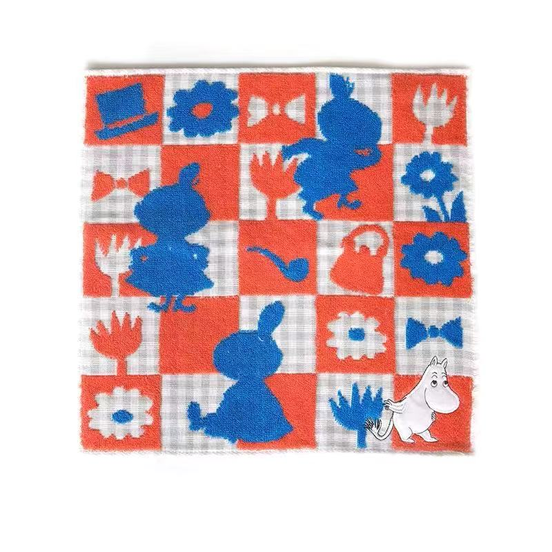 Moomin Checkered Towel 34x34cm