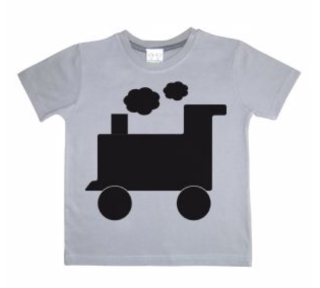 Chalkboard Train T-Shirt
