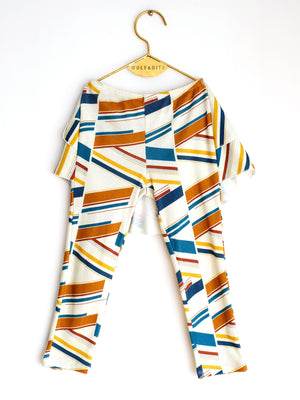 GIRL STRIPE LEGGING