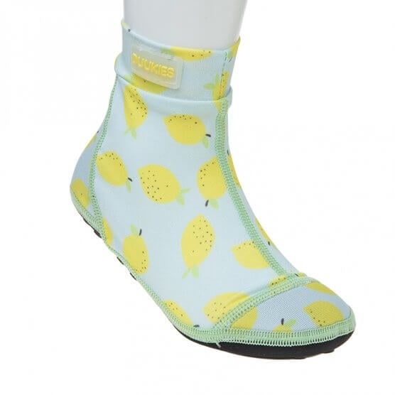 Mint Green Lemons BeachSocks