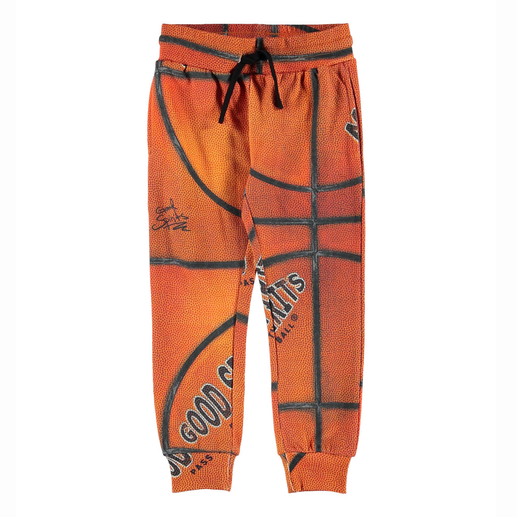 Alcan Basket Structure sweatpants, a basketball inspired design for the young hoopers.