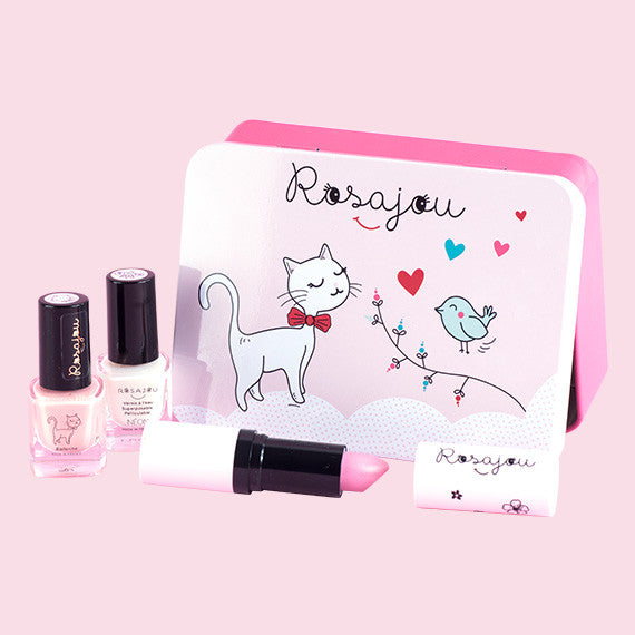 Cat Metal Box Gift Set