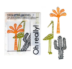 Textile Stickers 3 By Pack