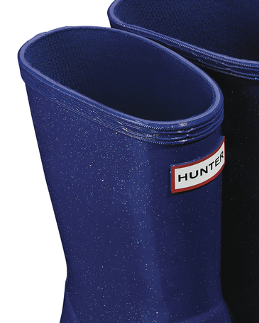 Kids First Classic Blue Star Cloud Rain Boots