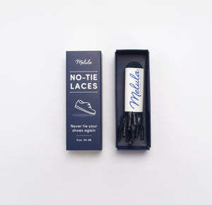 No-Tie Shoe Lace Dark Blue