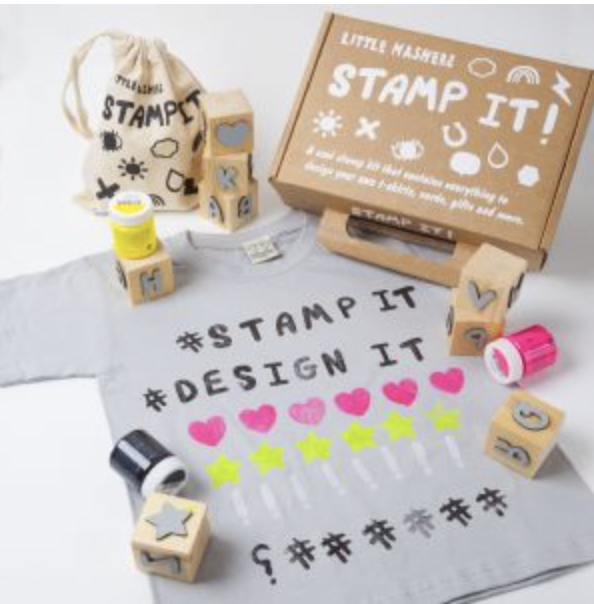 Letters Stamp It Kit