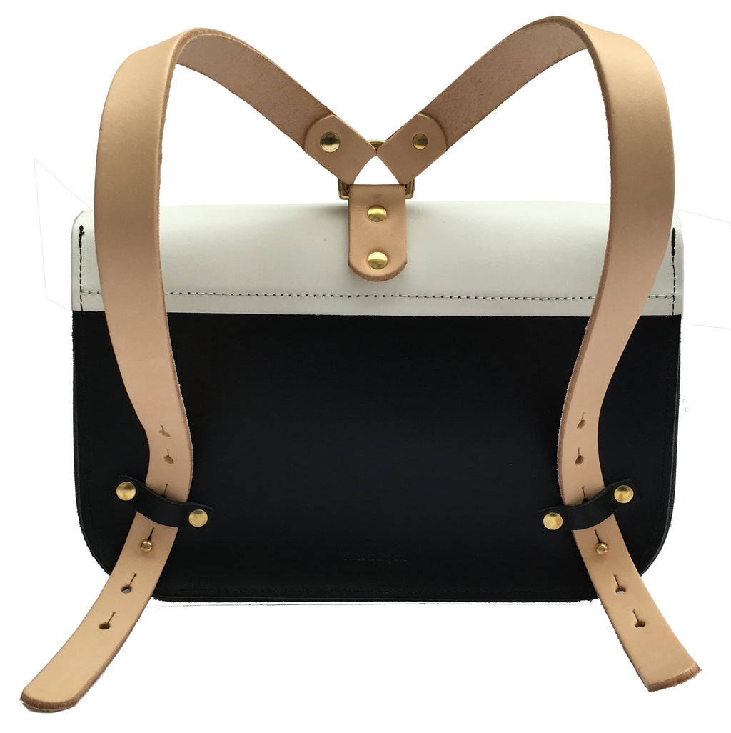 Monochrome & Nude Ellison Satchel, perfect for your daily necessities.