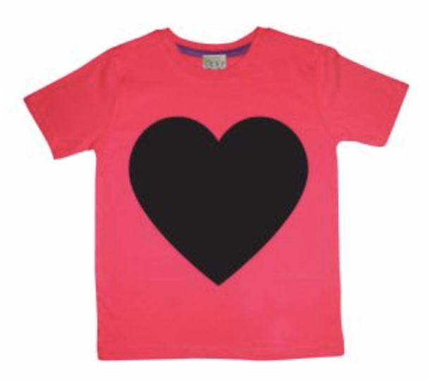 Red Chalkboard Heart T-Shirt