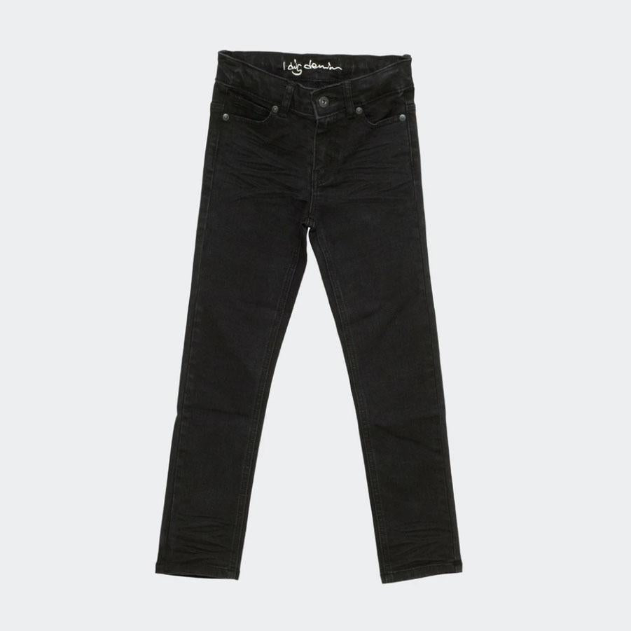 Children's black slim fit jeans from I Dig Denim