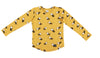 MUSTARD LAYKA DOG LONG SLEEVE T-SHIRT