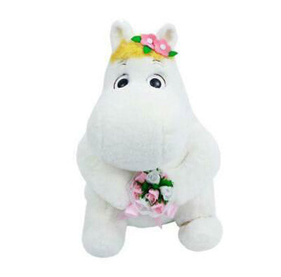 Moomin Plush with Flower 30cm
