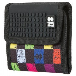 Multicolour Checkered Wallet