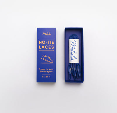 NO-TIE LACES-ROYAL BLUE
