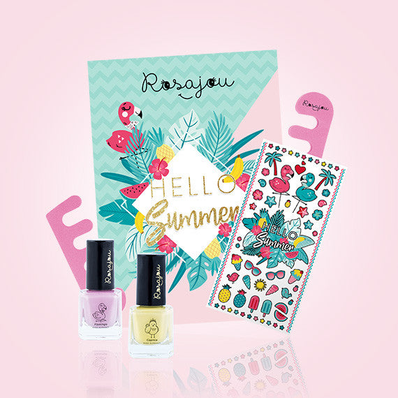 Flamingo Nail Polish Kit