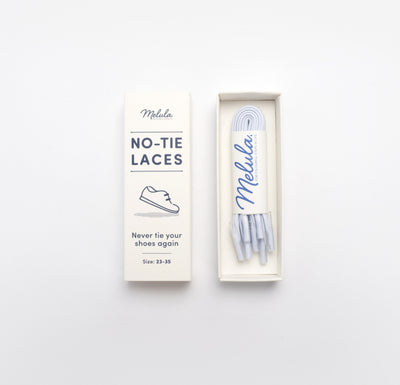 NO-TIE LACES-WHITE