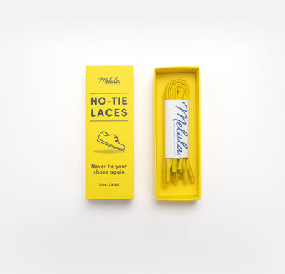 NO-TIE LACES-YELLOW