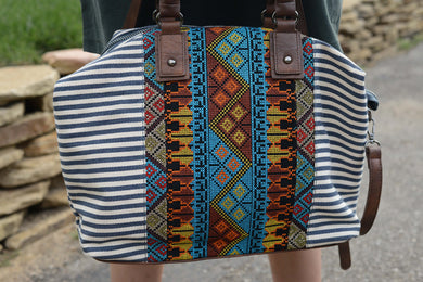 Suzie Market Bag in Blue