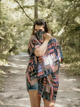 Dusty Road Patched Kimono