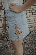 Backyard Gala Denim Skirt