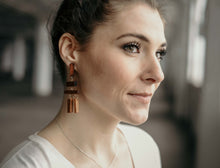 Wooden Statement Earrings