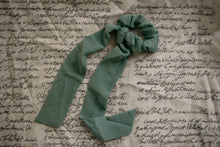Mint Scarf Scrunchie