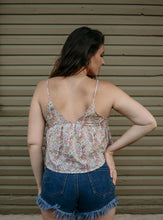 Sweet Pea Floral Tank