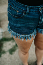 Suns Out Frayed Hem Shorts