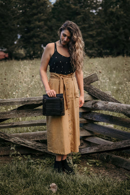 Rustling Leaves Paper Bag Skirt