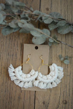 """The Ordinary Rope"" Macramé Earrings"