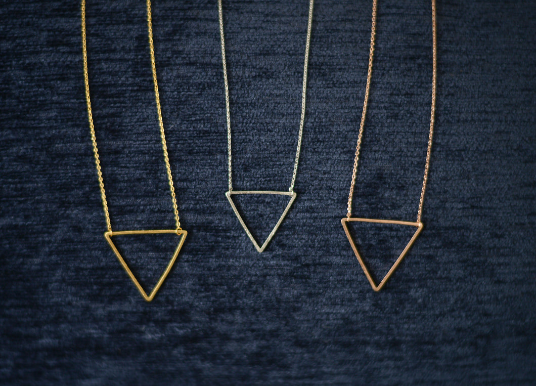 Minimal Triangle Necklace