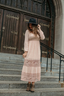 Urban Autumn Maxi Dress