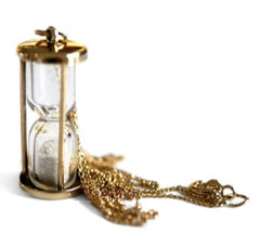Stardust Hourglass Necklace