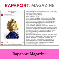 Baroque Rocks Featured in Rapaport Magazine