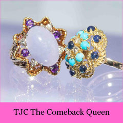 Baroque Rocks Feature in The Jewellery Cut Magazine Article The Comeback Queen