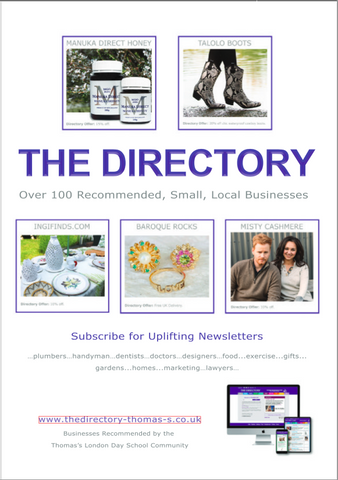 Baroque Rocks featured in Sloane Square Magazine The Directory