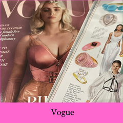 """Baroque Rocks featured in June's Vogue """"Vivid Detail: flashes of embellishment.....from great to extraordinary"""