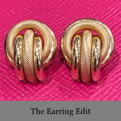The Earring Edit: The Gold Standard