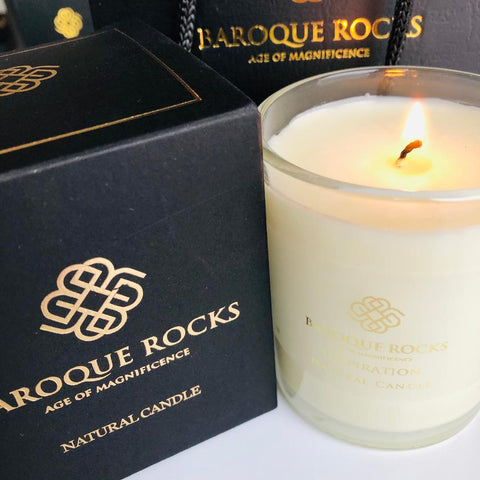 Baroque Rocks Scented Eco Candles