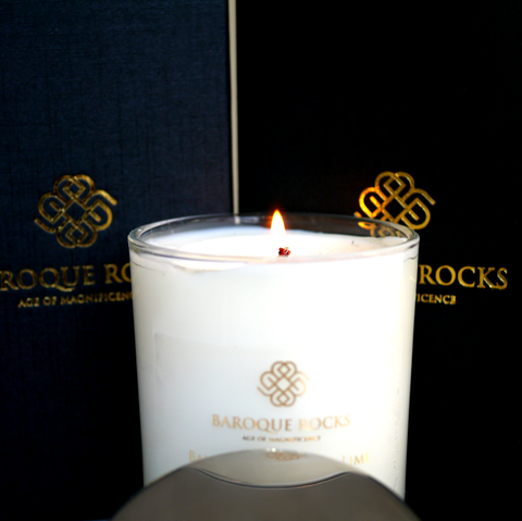 Baroque Rocks Candles: Lime, Basil & Mandarin