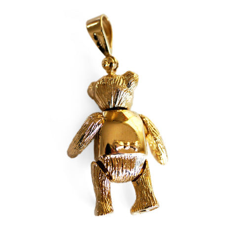 Vintage Artfully Articulated 1990s Bear Pendant
