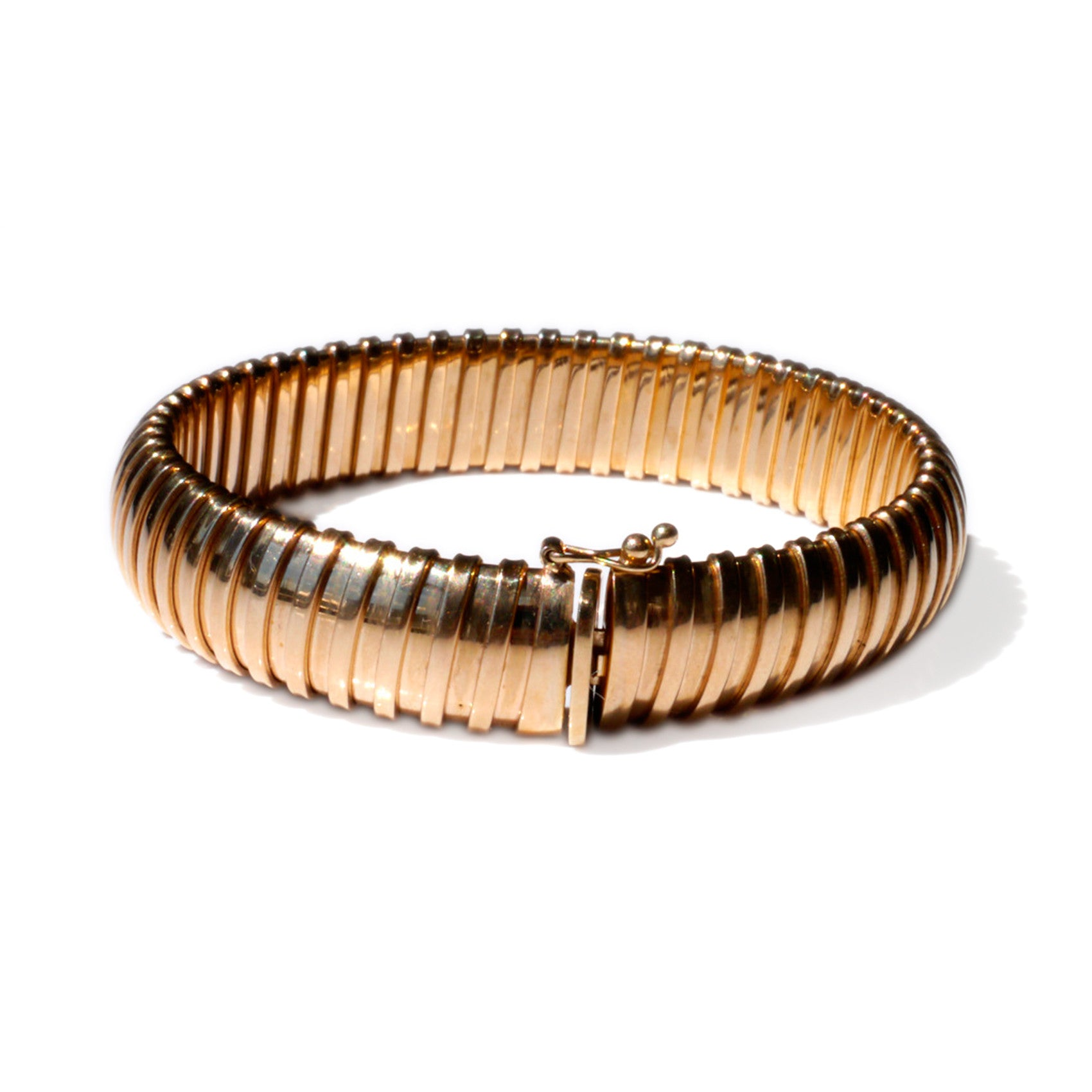 Gold Glorious Gold: Articulated Bracelet