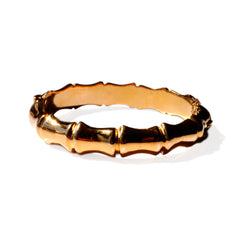 Gold Glorious Gold: Bamboo Bracelet